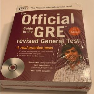 Official GRE Super Power Pack Educational Testing